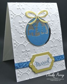 Stamping in Columbus, GA, Stampin' Up!, Merriest Wishes