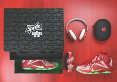The hoops package! A Detailed Look at the Sprite x LeBron James' Mix Package | The Source