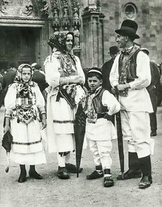 Folk Costume, Costumes, Folk Clothing, Old Photography, Traditional Dresses, Croatia, Folk Art, Arts And Crafts, Culture