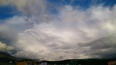 Perfiles en unas nubes sobre la Cumbre de La Palma