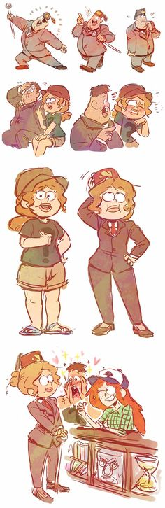 Baby Twins Cartoon Gravity Falls 26 Ideas For 2019 Gravity Falls Comics, Gravity Falls Au, Dipper Et Mabel, Monster Falls, Pixar, Grabity Falls, Desenhos Gravity Falls, Mini Comic, Reverse Falls