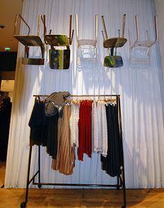 clothing rack,pinned by Ton van der Veer