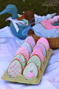 Easter cookies juliamusher