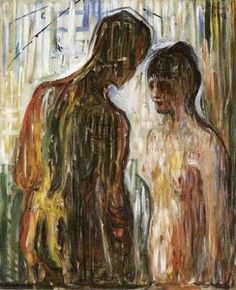 Cupid and Psyche - (Edvard Munch)