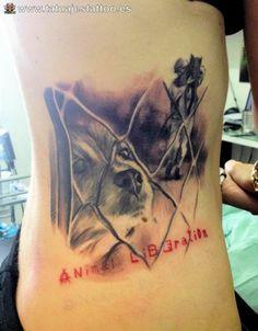 imagenes de tatuajes para damas perros
