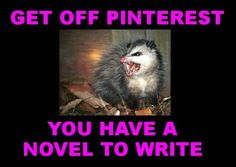 #nanowrimo I discovered pinterest in november 2010. There was a conflict.