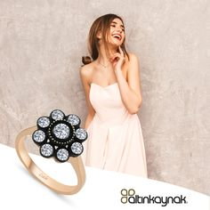 #elmasyüzük ile parmaklarınıza bahar gelsin. Şimdi en uygun fiyatlarla online mağazada sizleri bekliyor. #zarafetinkaynağı #elmasfantaziyüzük Strapless Dress Formal, Formal Dresses, Fashion, Dresses For Formal, Moda, Formal Gowns, Fashion Styles, Formal Dress, Gowns