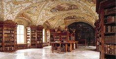 Monastery library Lilienfeld, Austria