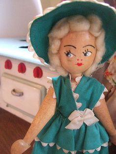 Vintage Polish Doll by Vintage Pleasure and Agnes Darling, via Flickr