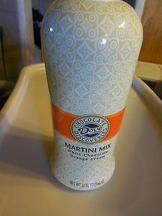 Dove Chocolate Discoveries (new) MARTINI MIX WHITE CHOCOLATE ORANGE CREAM