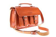 Stylowy kuferek skórzany torba na ramię młodzieżowa VOOC Vintage P30.