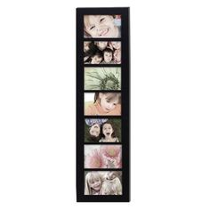 ADECO PF0273 7-Opening Black Wooden Wall Hanging Collage Picture Photo Frames - Home Decor Wall Art,Holds Seven 4x6 inch Photos,Great Gift by ADECO, http://www.amazon.com/dp/B00DGYLES4/ref=cm_sw_r_pi_dp_1.OYrb1KM2BHE