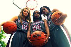 Girls Basketball Players - Senior Portrait Session. State bound!