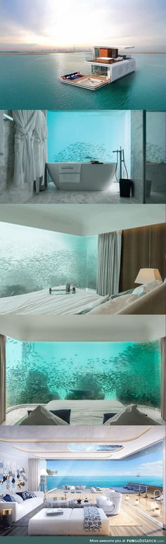 Dubai is building beautiful underwater homes