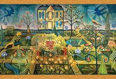 Julia Zanes: The Golden Mean (1000 Piece Puzzle by Pomegranate)