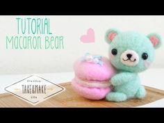 DIY Macaron Bear Plushie Tutorial