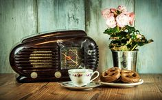Food, Retro Radio Old Cup Historical Still Life There Goes My Everything, Everything I Own, Nagasaki, Lost That Loving Feeling, Song Sung Blue, America Album, My Love Paul Mccartney, The Stylistics, The Lion Sleeps Tonight