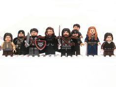 Game of Thrones LEGO minifigs Stark Family
