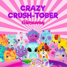 If you've been crushing on the Alien, Gail Giraffe, Bubba Bigfoot or Ariana Spider – THIS IS YOUR CHANCE! Check out link to participate! Go Bananas, Collectible Toys, Bigfoot, Giraffe, Spider, Giveaway, Crushes, Link, Check