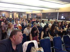 Room filling @NeuroNurseForum final #RCN15 event Purbeck Bar on #communication problems in neurological conditions