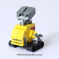 Custom LEGO WALLE by BricksBen on Etsy, $30.00