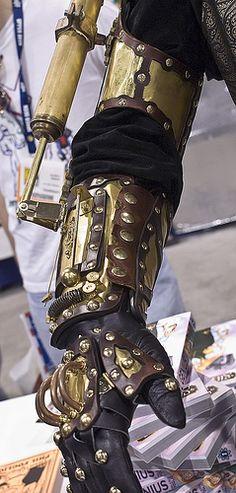 steampunk_arm by hellboarder, via Flickr.