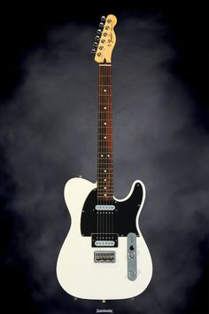 Fender Standard Telecaster HH - Olympic White, Rosewood Fingerboard | Sweetwater.com