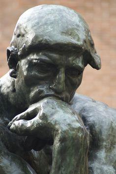 "Auguste Rodin. ""El Pensador"". 1903. Bronce."