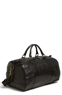 Polo Ralph Lauren Leather Gym Bag available at  Nordstrom Gym Bag  Essentials 922831c2028c5