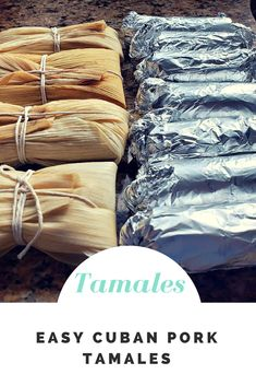 Instant Pot Easy Cuban Tamales with Pork – Lana Under Pressure - Food and drink Cuban Tamales Recipe, Homemade Tamales, Mexican Tamales, Tamales Cubanos Recipe, Easy Tamale Recipe, Puerto Rican Recipes, Mexican Food Recipes, Mexican Desserts, Gourmet Desserts