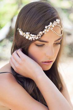 bridal bohemian headpiece | Percy Handmade