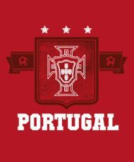 It's football time again! FIFA World Cup 2014 takes place soon. If you are rooting for Portugal then this original fan t-shirt is bound to please you like Punch Show the world where your Soccer and Football Allegiances lie with this awesome Portugal Soccer fan World Cup 2014 T-Shirt. THESE ARE ALSO OFFERED IN WOMENS- LADIES- GET YOUR FANWEAR HERE! Professionally screenprinted for long-lasting wear and quality.