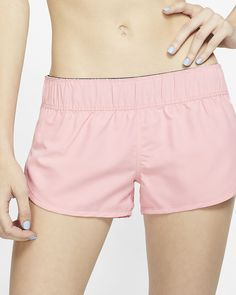 daea70327f Aleumdr Womens Side Split Waistband Swim Shorts with Panty Liner Plus Size S  - 3XL | lovely items you bought again