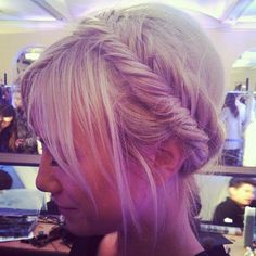 gorgeous headband braid