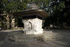 Der Yunus-Emre-Brunnen im Türkenschanzpark (Foto Lisa Bolyos) Vienna, 18th, Outdoor Structures, Fountain