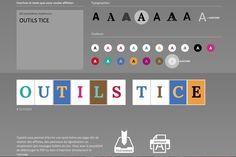 Type A4. Créer des panneaux avec une lettre par page. #tice