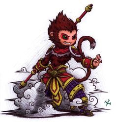 Wukong by triumviratusok on DeviantArt