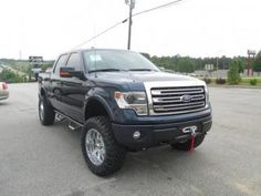 Lifted 2013 Ford F-150 Lariat Rivers Edge Upfitters Conversion