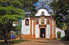 Igreja do Rosario dos Pretos - Tiradentes, Minas Gerais, Brazil