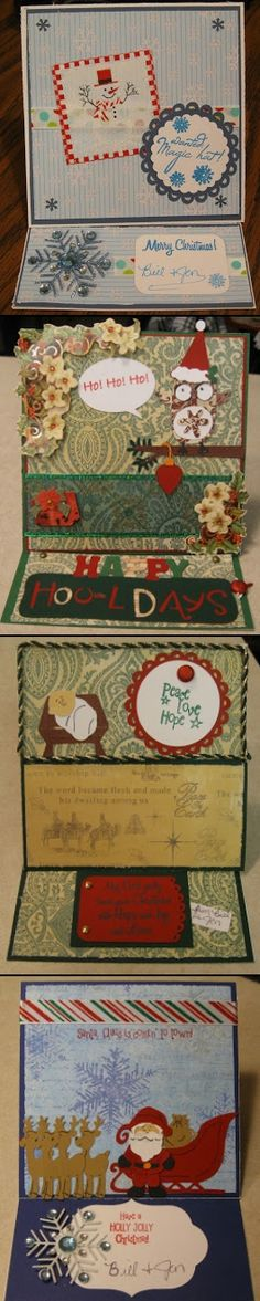 Christmas Cards - created via http://pinthemall.net