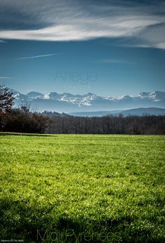 The Ariege region in the Midi Pyrenees, France