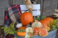Happy Thanksgiving Friends, Thanksgiving Celebration, Thanksgiving 2020, Try To Remember, Galvanized Metal, Easy Peasy, Fall Crafts, Furniture Making, Furniture Makeover