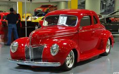 1939 Ford Deluxe Coupe - mod - red - fvl | Flickr - Photo Sharing!
