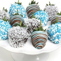 Baby Boy Chocolate Covered Strawberries