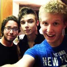 Joe Flanders, Andy Biersack, and Bryan Stars<<<< This is the most ultimate picture ever taken!!!
