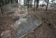 Kaum Erinnerungskultur - kaum sichtbar, das Gelände des früheren Kriegsgefangenenlagers Stalag II B (1939-1945)  im Ortsteil Fürstenberg.