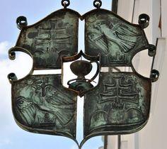 Apothecary sign 1892  Gyor, Hungary