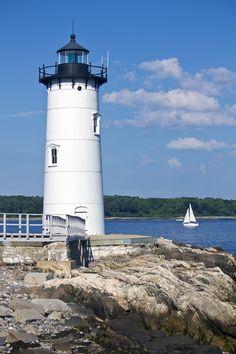 Portsmouth Harbor Leuchtturm