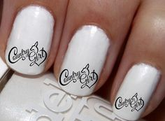 50 pc Country Gal Country Sweetheart Country Horse Nail Decals Nail Art Nail Stickers Best Price NC1109