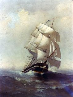 ship painting